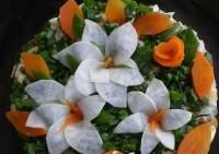 Святковий салат «Лілія»