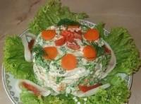 Святковий салат «Морський Цар»