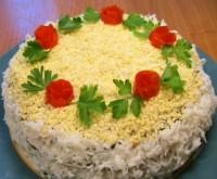 Святковий торт з яловичої печінкою