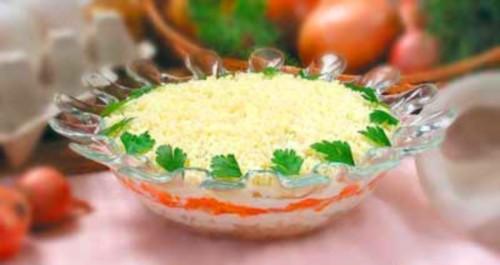 Приготування салату Мімоза - робимо смачний салат
