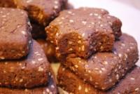 Просте печиво з кунжутом «Хрустке»