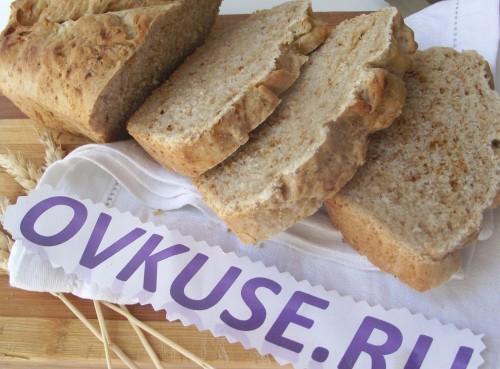 Пшенично-житній хліб з паприкою, рецепт приготування з фото