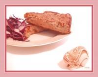 Хлібний Пудинг з печінкою