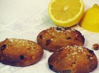 Пампушки-пряники з сиром, медом, родзинками і горіхами