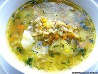 Суп вегетаріанський (пісний)
