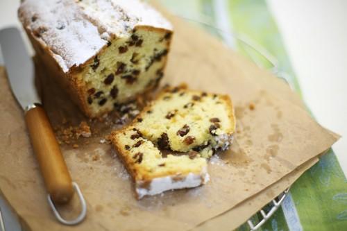 Рецепт швидкого кекси з родзинками