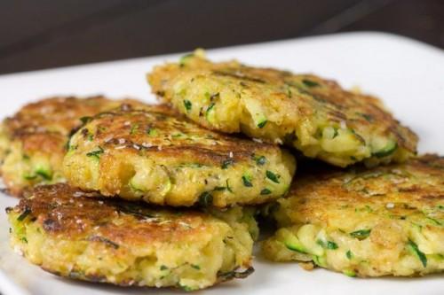Рецепти оладок з кабачків