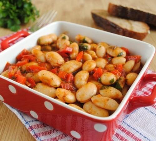 Рецепти приготування квасолі з овочами по-літньому
