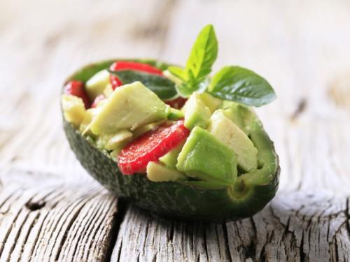Рецепти простих салатів з авокадо