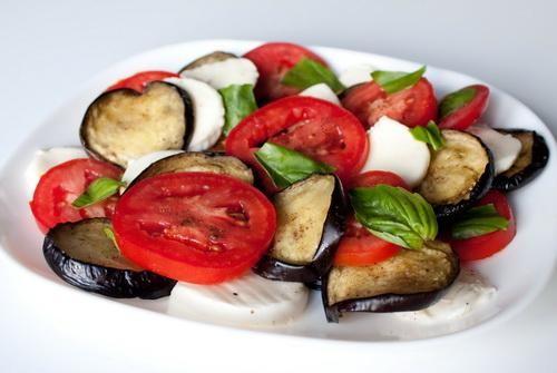 Рецепти салатів з баклажанами