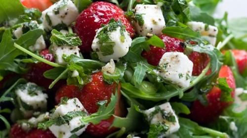 Рецепти салатів з сиром фета