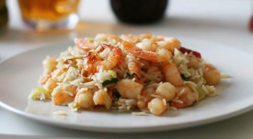 Рис з креветками: 6 рецептів