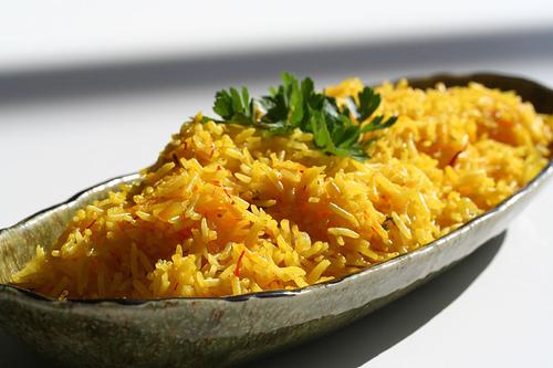 Рис з шафраном