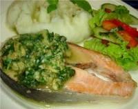 Риба з «зеленим» соусом