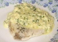 Рибка з яйцем по-польськи