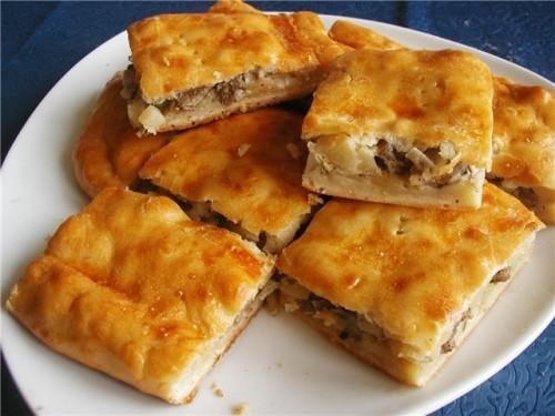 Рибно-картопляний пиріг по-старорусски