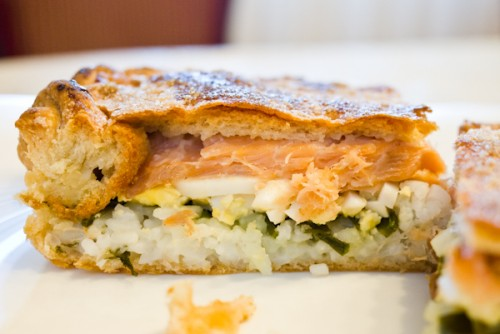 Рибний пиріг - ситна закуска або основне блюдо