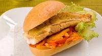 Рибний сендвіч з перцем