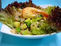Салат з авокадо з помідорами (італійська кухня)