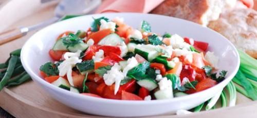 Салат болгарська, рецепти приготування з фото