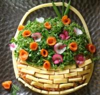 Салат «Квітковий кошик»