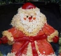 Салат «Дід Мороз»
