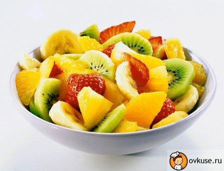 Салат фруктовий «Динька»