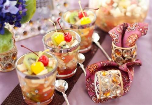 Салат фруктовий з соком
