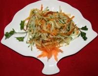 Салат грибний з куркою