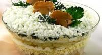 Салат «Гриби під снігом»