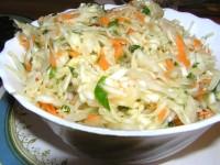 Салат з білокачанної капусти