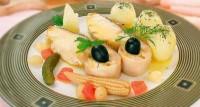 Салат з білуги, осетрини і севрюги
