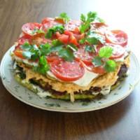 Салат з грибів з журавлиною