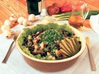 Салат з грибів з овочами