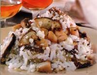 Салат з грибів з рисом