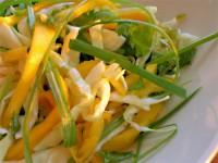 Салат з індички і манго