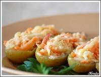 Салат з яєць і солоних огірків