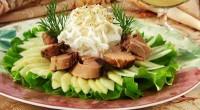 Салат з консервованого тунця