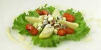 Салат з копченої скумбрії з картоплею