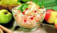 Салат з квашеної капусти