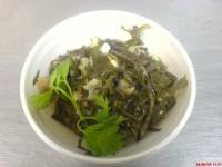 Салат з морської капусти з оселедцем