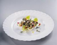 Салат з норвезької оселедця, редиски та яблука