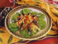 Салат з норвезької оселедця з овочами
