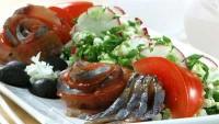 Салат з редису з оселедцем