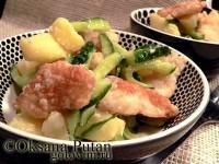 Салат з риби з хріном