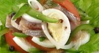 Салат з оселедця з перцем
