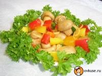 Салат з печериць і яєць (II)