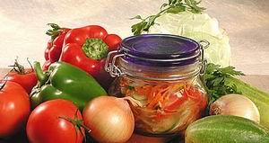 Салат із суміші овочів