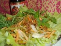 Салат з буряків і редьки