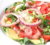 Салат з сиру і авокадо
